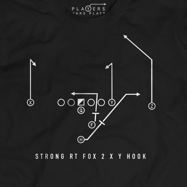 Fox 2 XY Hook, a West Coast Offense Staple