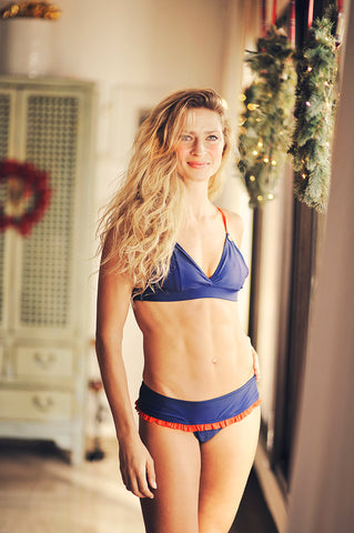 2020 SAVANNAH Azul bikini top - HJF - HAPPYJIGGLYFEET