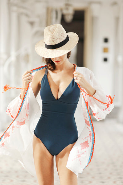 MOROCCO SWIMSUIT COVER UP - HJF - HAPPYJIGGLYFEET