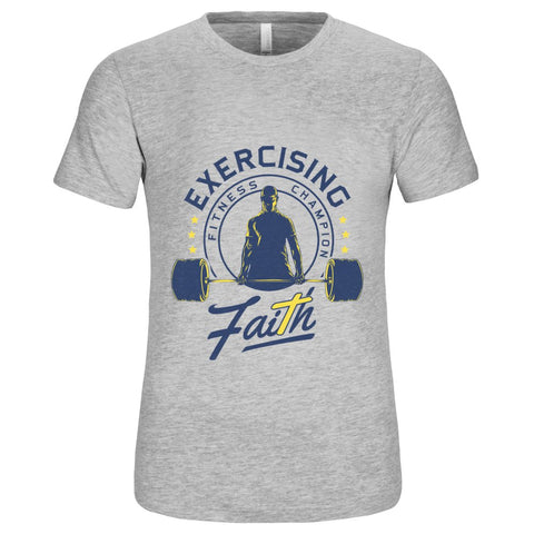Unisex Short Sleeve Jersey T-Shirt, Shirts - US Availability - EXERCISING FAITH