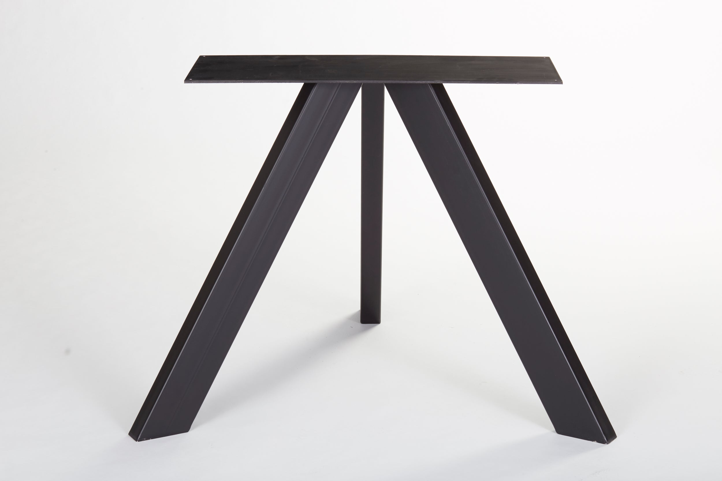 The tripod dining table base steel