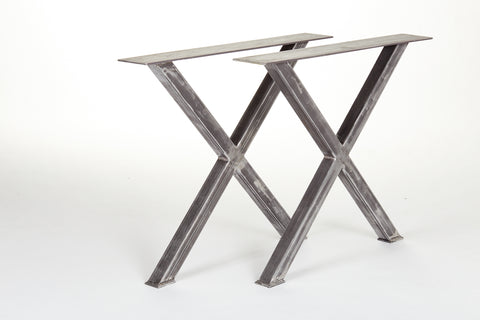 X Table Base, Steel