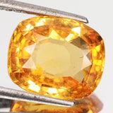 Imperial Orange Hessonite Garnet - Cushion Cut - 5.71 Cts