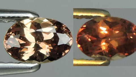 Colour Change Garnet - Oval Cut - 0.65 Cts