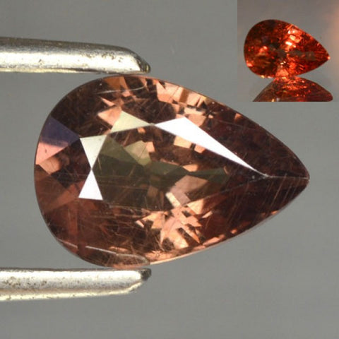 Color Change Garnet - Pear Cut -1.35 Cts