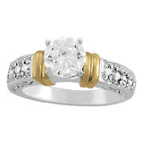 Yellow Gold Antique Diamond Engagement Ring