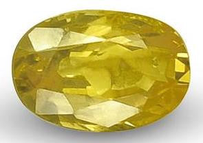 Yellow Sapphire - Oval Cut - 6x4mm - 0.40 Cts