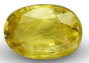 Yellow Sapphire - Oval Cut - 6x4mm - 0.41 Cts