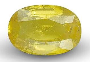 Yellow Sapphire - Oval Cut - 6x4mm - 0.55 Cts