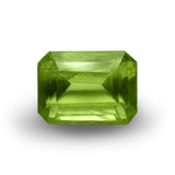 Demantoid Garnet - Emerald Cut - 7x5mm - 1.25 Cts