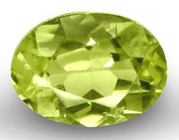 Demantoid Garnet - Oval Cut - 8x6mm - 1.26 Cts