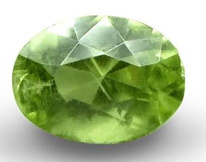 Demantoid Garnet - Oval Cut - 6x4mm - 0.71 Cts