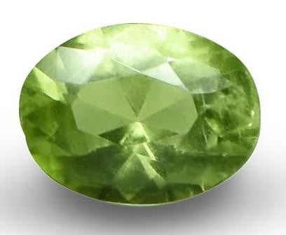 Demantoid Garnet - Oval Cut - 6x4mm - 0.75 Cts