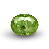 Demantoid Garnet - Oval Cut - 6x4mm - 0.85 Cts