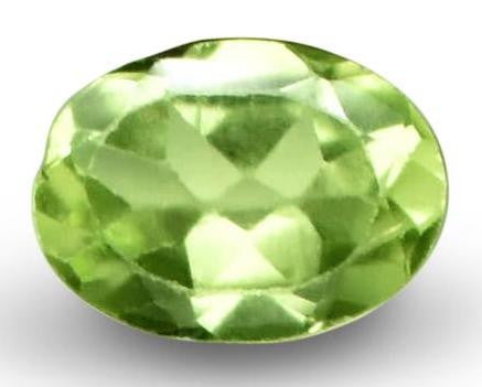 Demantoid Garnet - Oval Cut - 7x5mm - 0.81 Cts