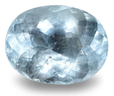 Aquamarine - 2.45 Cts - Oval Cut - Untreated - Brazilian Stone