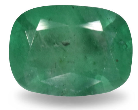 Emerald - 1.15 Cts - Cushion Cut - Zambian Stone