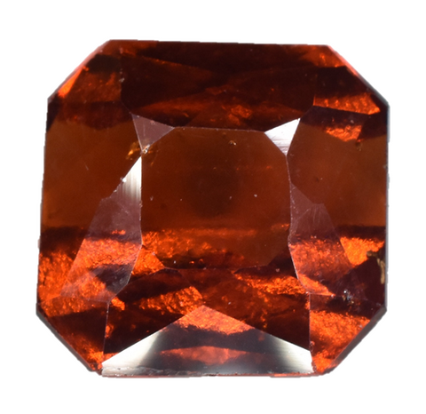 Hessonite Garnet - Emerald Cut - 4.15 cts