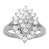 Multi-stone Diamond Ring (1 cts) - 81196-1
