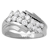 Multi-stone Diamond Ring (1 3/8 cts) - 81823