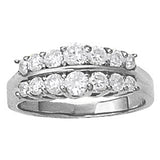 Multi-stone Diamond Ring (1 cts) - 81839-1