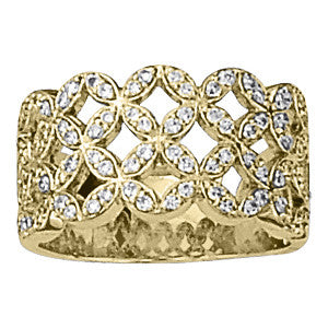 Multi-stone Diamond Ring (1/2 cts) - 82655