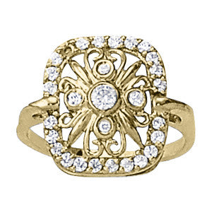 Multi-stone Diamond Ring (1/2 cts) - 82685