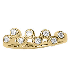 Multi-stone Diamond Ring (1/4 cts) - 82827-1/4