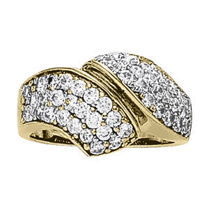 Multi-stone Diamond Ring (1 3/8 cts) - 83030