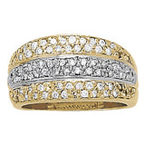 Multi-stone Diamond Ring (1 cts) - 83177