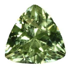 Peridot - 3.10 Cts - Trillion Cut - Pakistan