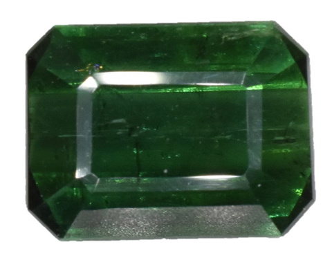 Green Tourmaline - 3.40 cts - Emerald Cut - Afghanistan Stone