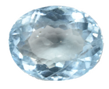 Aquamarine - 2.20 Cts - Oval Cut - Untreated - Brazilian Stone