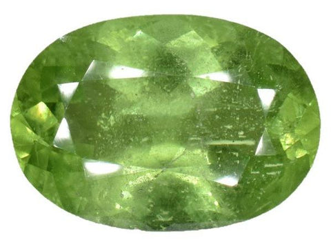 Peridot - 9.65 Cts - Oval Cut - Pakistan