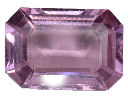 Pink Spinel - 3.19 carats - Emerald Cut - Excellent Luster