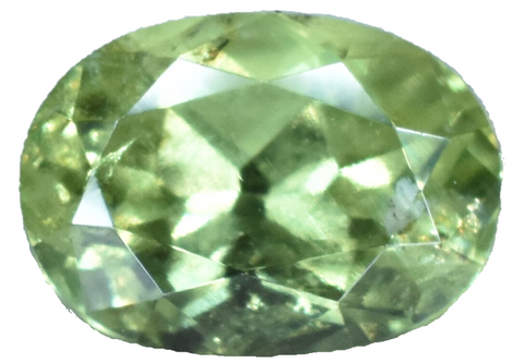 Demantoid Garnet -1.2 cts - Oval Cut - Namibia Stone