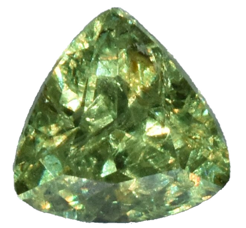 Demantoid Garnet -1.15 cts - Trillian Cut - Namibia Stone