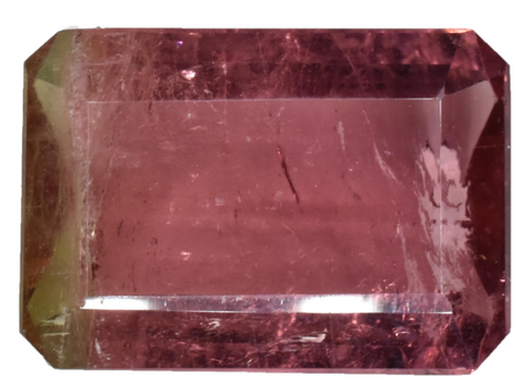 Watermelon Tourmaline - 6.00 carats -Raspberry Red -  Cruzeiro Mine, Brazil