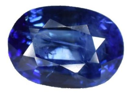 Blue Sapphire -1.04 cts -  Certified Heat Only - Oval Cut - Sri Lankan Stone