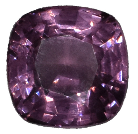 Pink Spinel - 2 carats - Cushion Cut - Deep Color