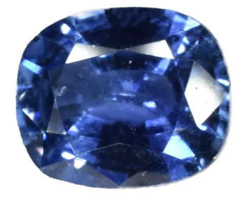 Blue Sapphire - Certified - Cushion Cut - 0.87 cts - Sri Lankan Stone