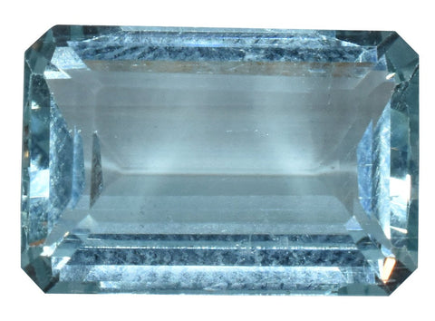 Aquamarine - IGI Certified - 6.05 Cts - Emerald cut