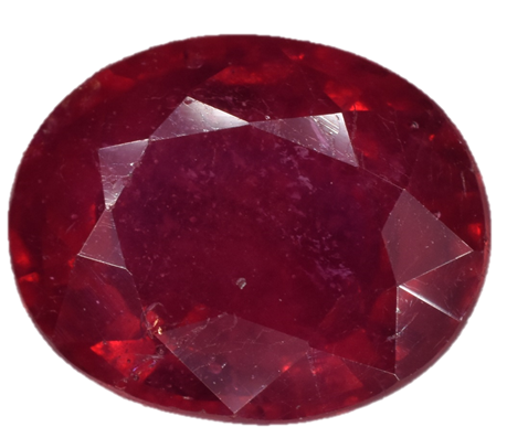 Ruby - Fracture Filled - 3.94 Cts