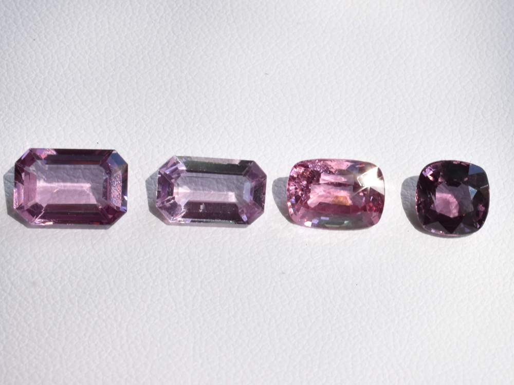 On a sunny Spring Day Pink Spinel come out to play!