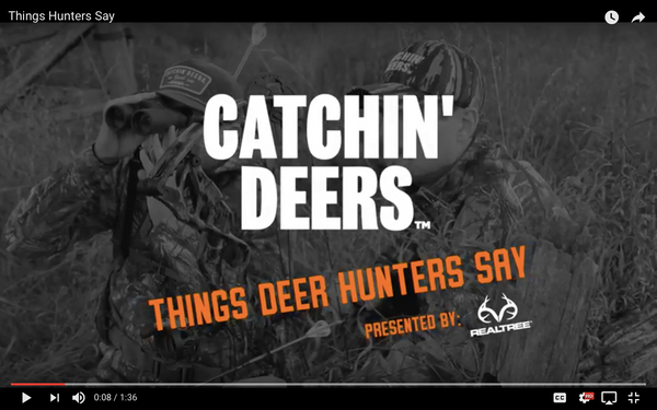 Things Deer Hunters Say