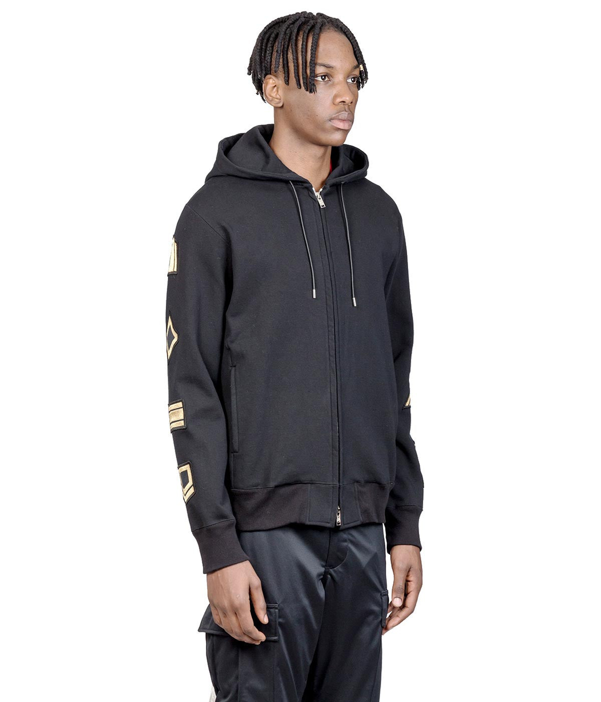 Black mastermind Feat. A-GIRL'S Patched Hoodie