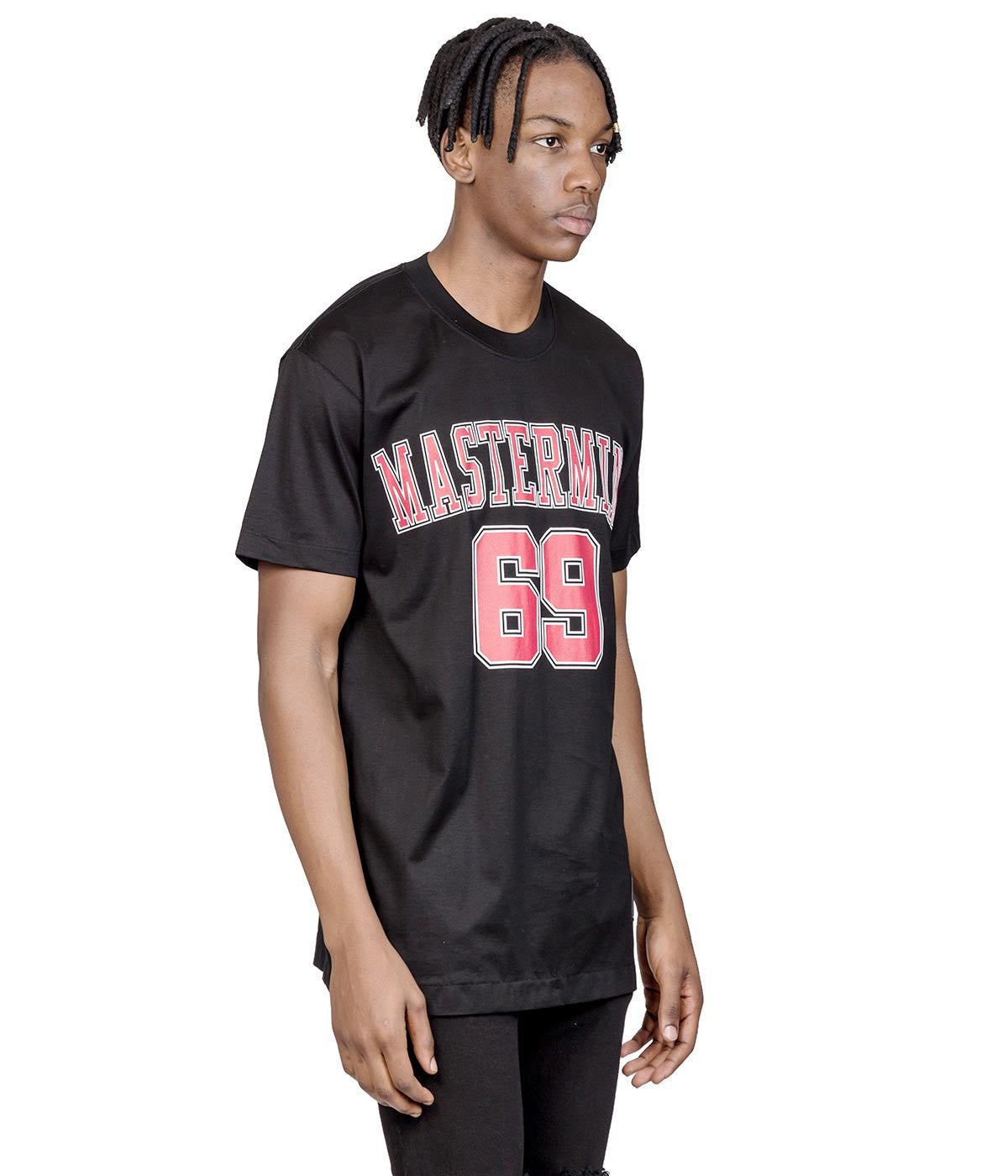 Black mastermind Feat. A-GIRL'S 69 T-shirt