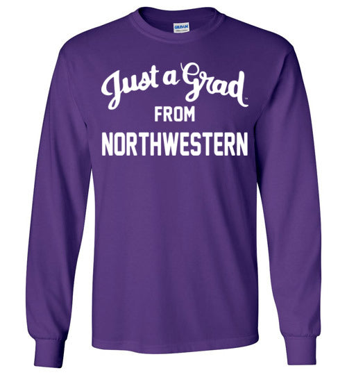 Northwestern LS Tee