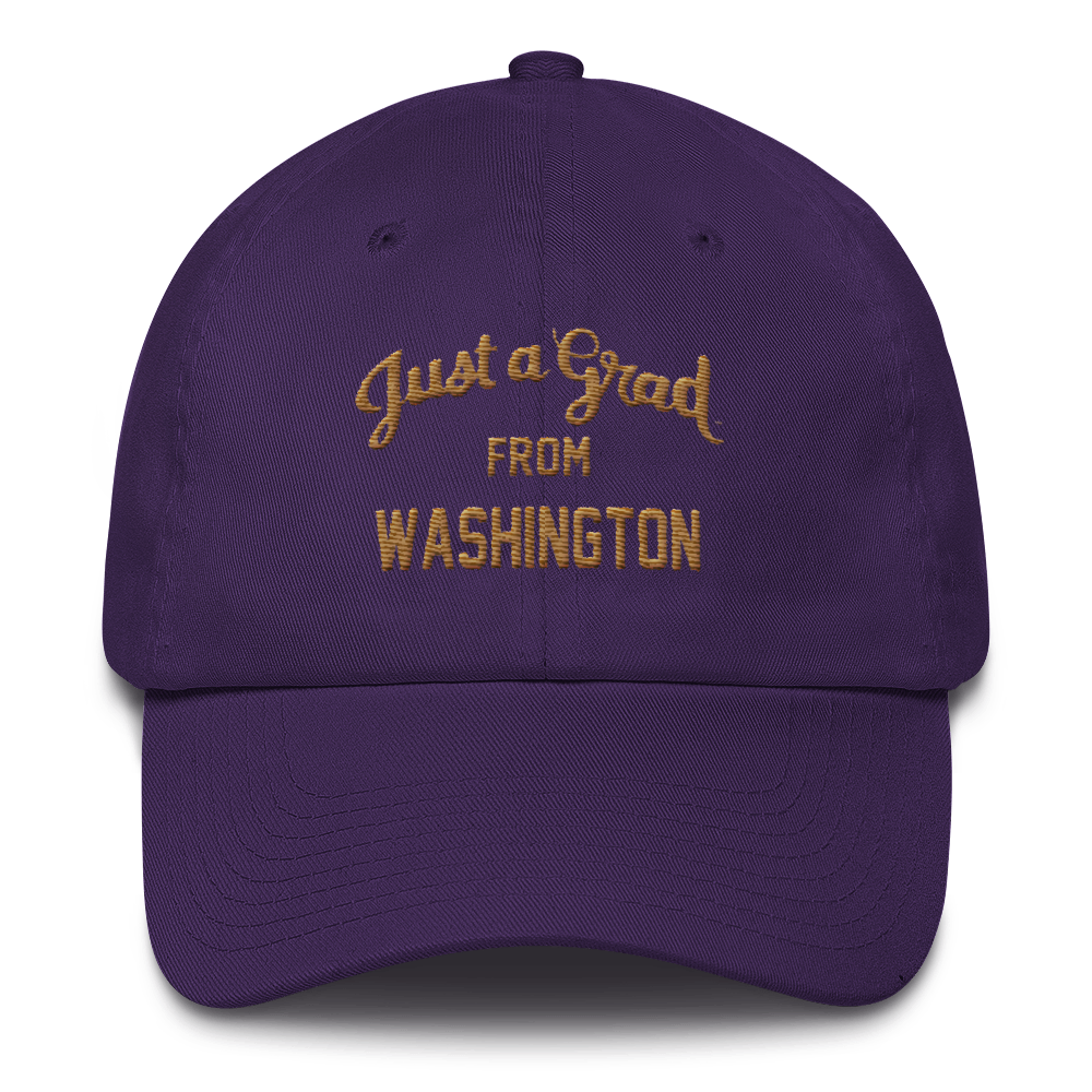Washington Cotton Cap