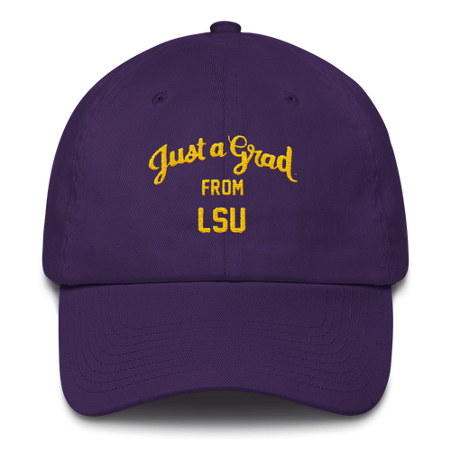 LSU Cotton Cap